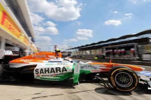 Force India: Hitze und Reifen bescheren Überstunden