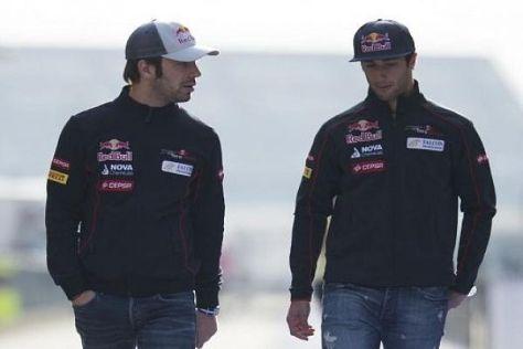 Einiges deutet darauf hin, dass Vergne und Ricciardo 2014 kein Team mehr sind