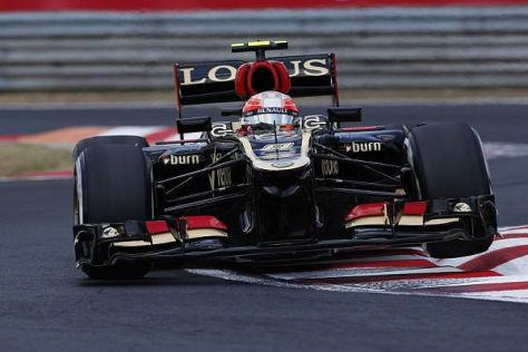 Romain Grosjean war heute Morgen auf dem Hungaroring der schnellste Mann