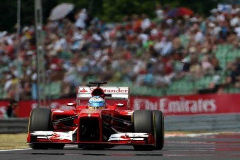 Fernando Alonso ist mit Startplatz fünf auf dem Hungaroring nicht unzufrieden