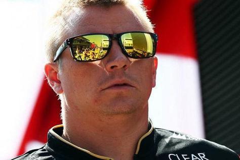 Kimi Räikkönen bekommt bei Lotus nur unregelmäßig Gehalt gezahlt