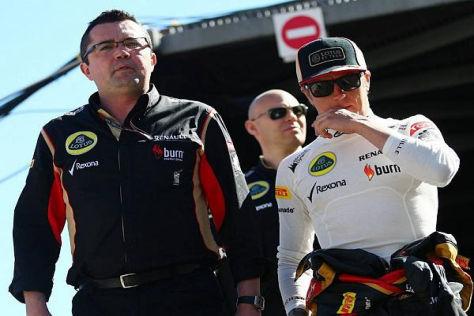 Lotus-Teamchef Eric Boullier ahnt, dass er Kimi Räikkönen wohl verlieren wird