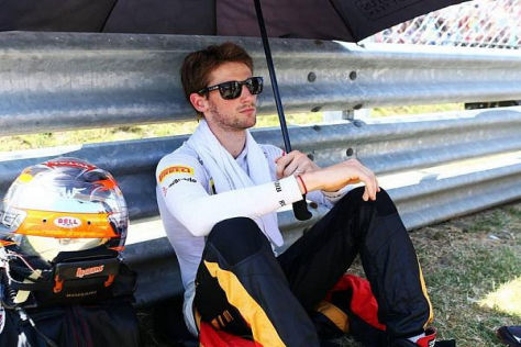Grosjean wäre gut beraten, im Cockpit so cool zu agieren wie mit Sonnenbrille