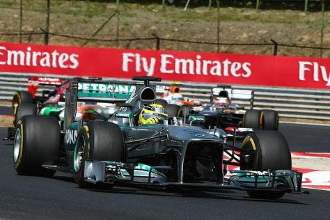 Das Rennen endete für Nico Rosberg durch einen Motorschaden vorzeitig