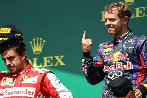 Sebastian Vettel hätte Fernando Alonso nur ungern zum Teamkollegen
