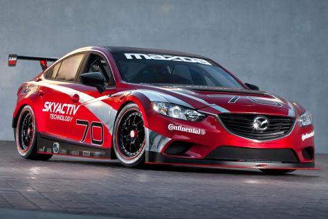 Mazda6 Skyactiv-D Clean Diesel Racecar