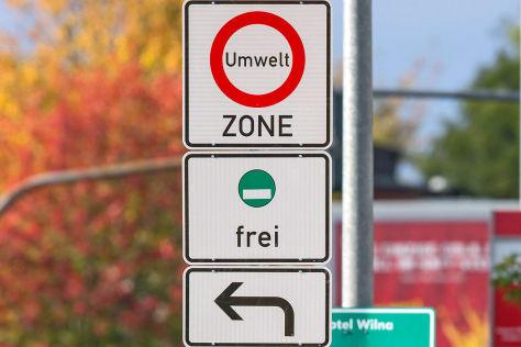 Erfurt: Klage gegen Umweltzone