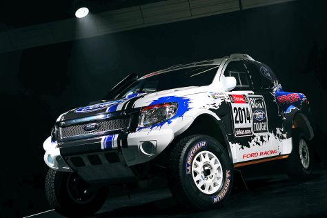 Ford Ranger für die Rallye Dakar 2014