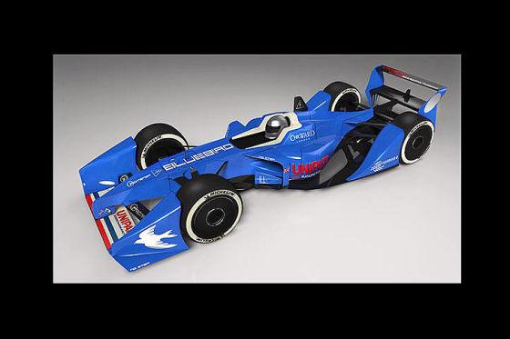 Bluebird GTL Formel E-Rennwagen