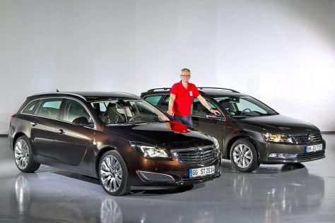 Opel Insignia VW Passat