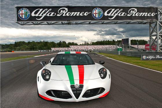 Alfa Romeo 4C Pacecar