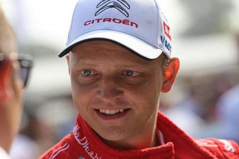 Mikko Hirvonen möchte gewinnen, sieht aber keinen entscheidenden Heimvorteil