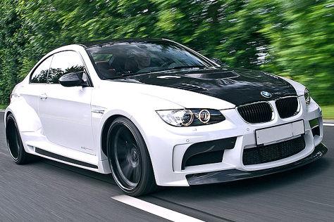 BMW M3 edo competition Vorsteiner schräg vorne