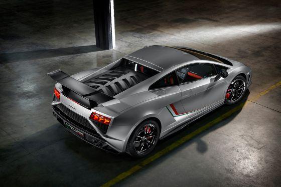 Lamborghini Gallardo LP 570-4 Squadra Corse Heckansicht