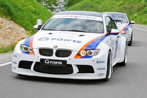 BMW M3 G-Power schräg vorne