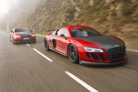 Abt R8 GTR/Abt RS 5-R: Vergleich