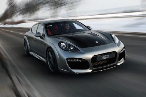 Porsche Panamera TechArt schräg vorne
