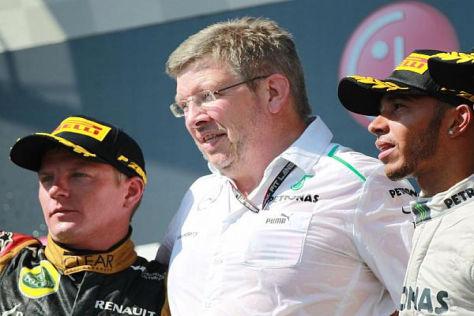 Solange Mercedes noch Erfolg hat, will Ross Brawn am F1 W04 festhalten