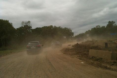 Mazda Route 3: Etappe 1