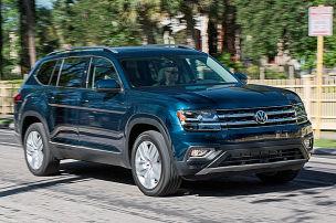 VW Atlas (2017) im Test: Fahrbericht