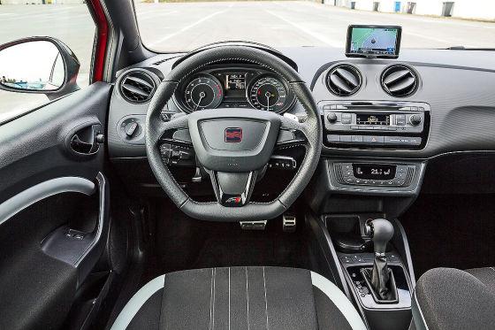 Cockpit Seat Ibiza Cupra