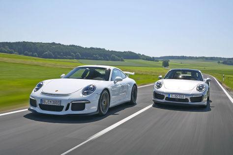 Porsche 911 Turbo S Porsche 911 GT3