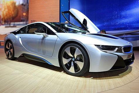 BMW i8 Vorstellung: IAA 2013