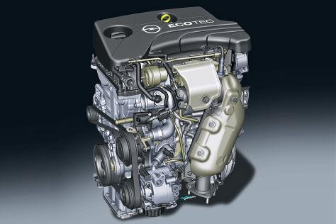 Opel 1.0-Liter SIDI-Motor