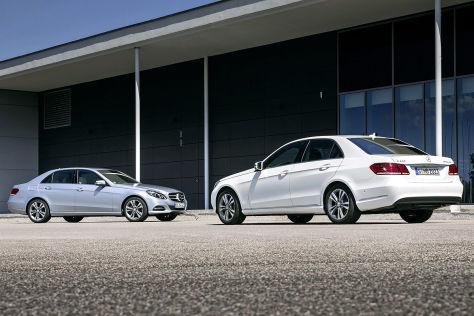 Mercedes-Benz E-Klasse umweltfreundliche Sondermodelle