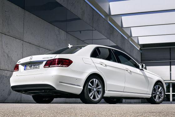 Mercedes E 200 NGD Erdgasantrieb