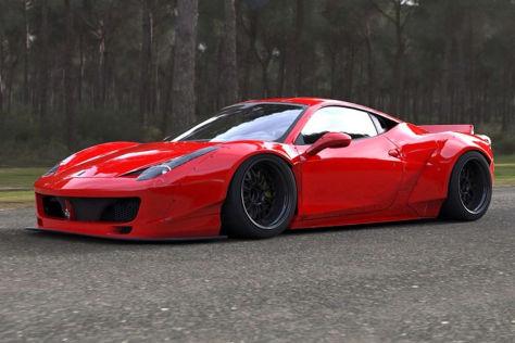 Ferrari 458 Italia LB Performance schräg vorne