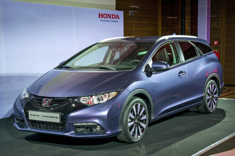 Honda Civic Tourer: IAA 2013