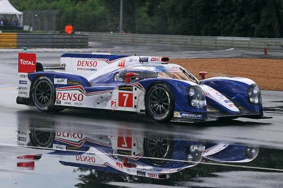 Toyota hybrider Rennwagen für Le Mans