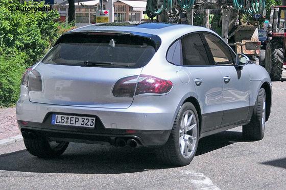 Erlkönig Porsche Macan SUV