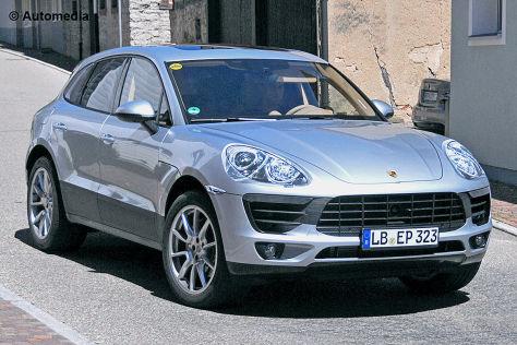 Porsche Macan Erlkönig