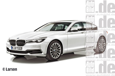 BMW 7er Illustration