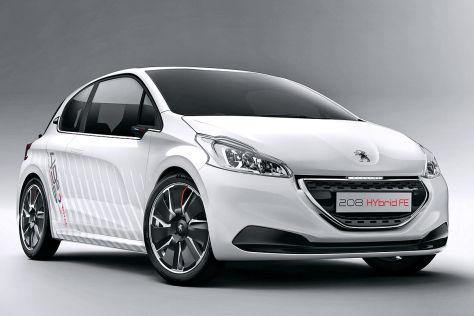 Studie Peugeot 208 Hybrid FE