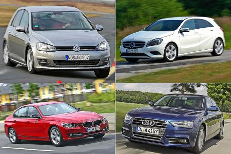 Die meistverkauften Autos im Test
