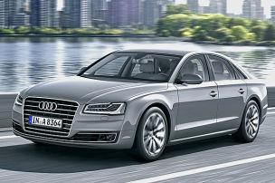Der neue Audi A8 greift an