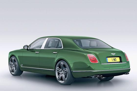 Bentley Mulsanne Le Mans Edition