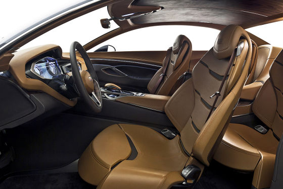 Luxus-Coupé der Zukunft
