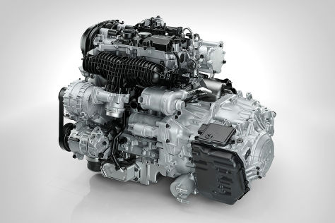 Volvo Drive-E Benzinmotor