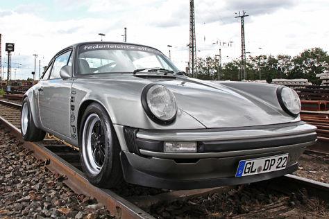 Porsche 911 DP Motorsport schräg vorne