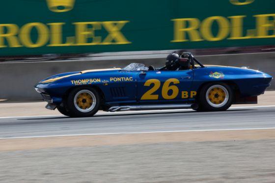 Die Corvette-Geburtstagkinder waren gut sortiert: Hier eine C2 als Roadster (1964).