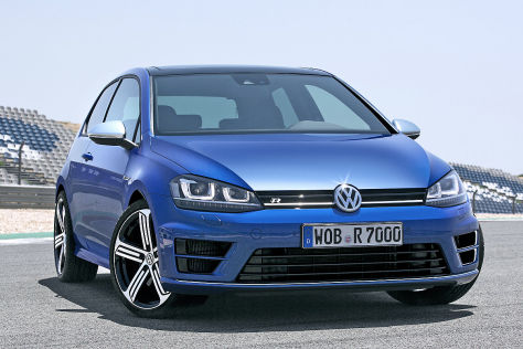 VW Golf R: IAA 2013