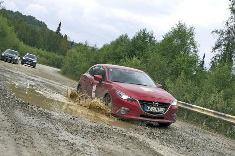 Mazda Route 3: Etappe 12