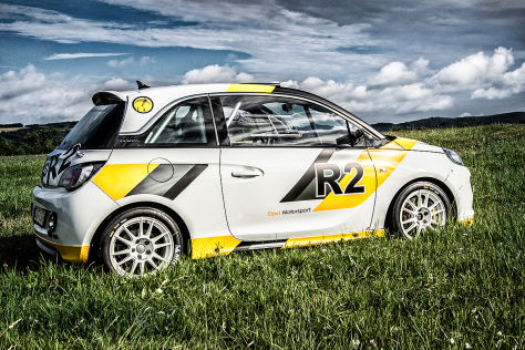 Opel Adam R2: Erster Einsatz