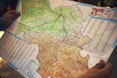 Von  Artybasch nach Gorno-Altaisk