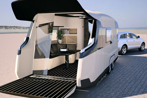 knaus tabbert caravisio wohnwagen studie caravan salon 2013. Black Bedroom Furniture Sets. Home Design Ideas