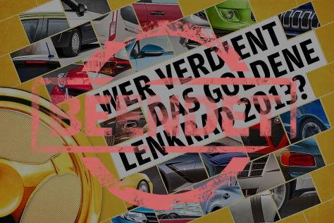 Das Goldene Lenkrad 2013: Gewinnen Sie einen Mercedes GLA!